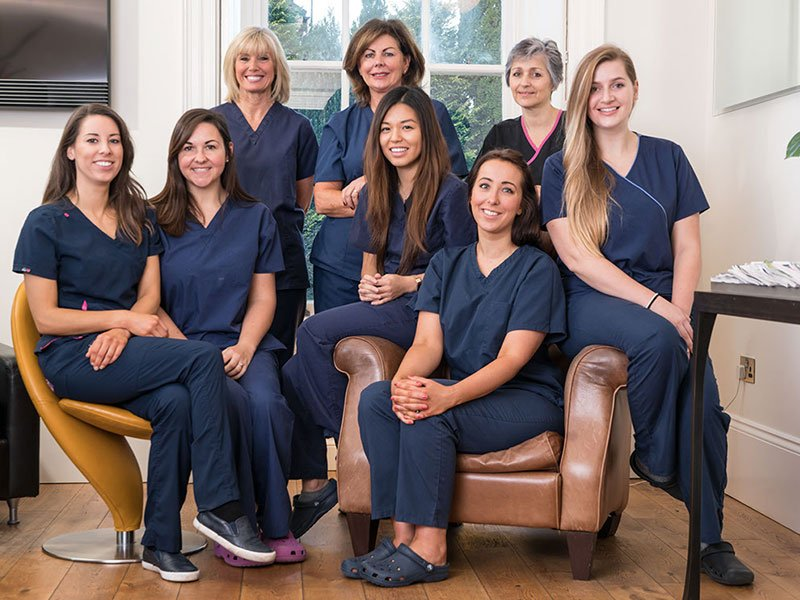 nurses and therapists team photograph