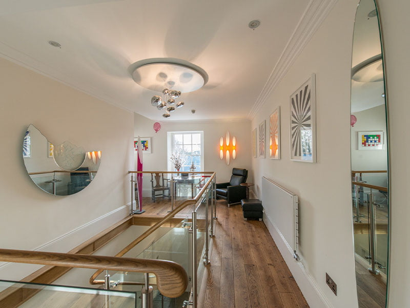 Modern and trendy interior of Rhiwbina Dental Practice